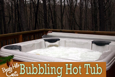 Hot Tub in the Hocking Hills